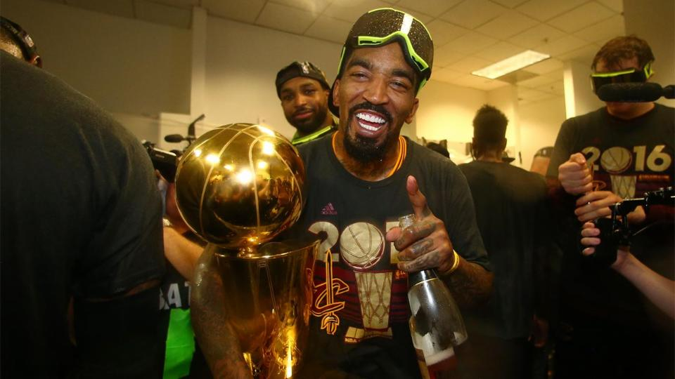 J.R. Smith is this year's after-party MVP