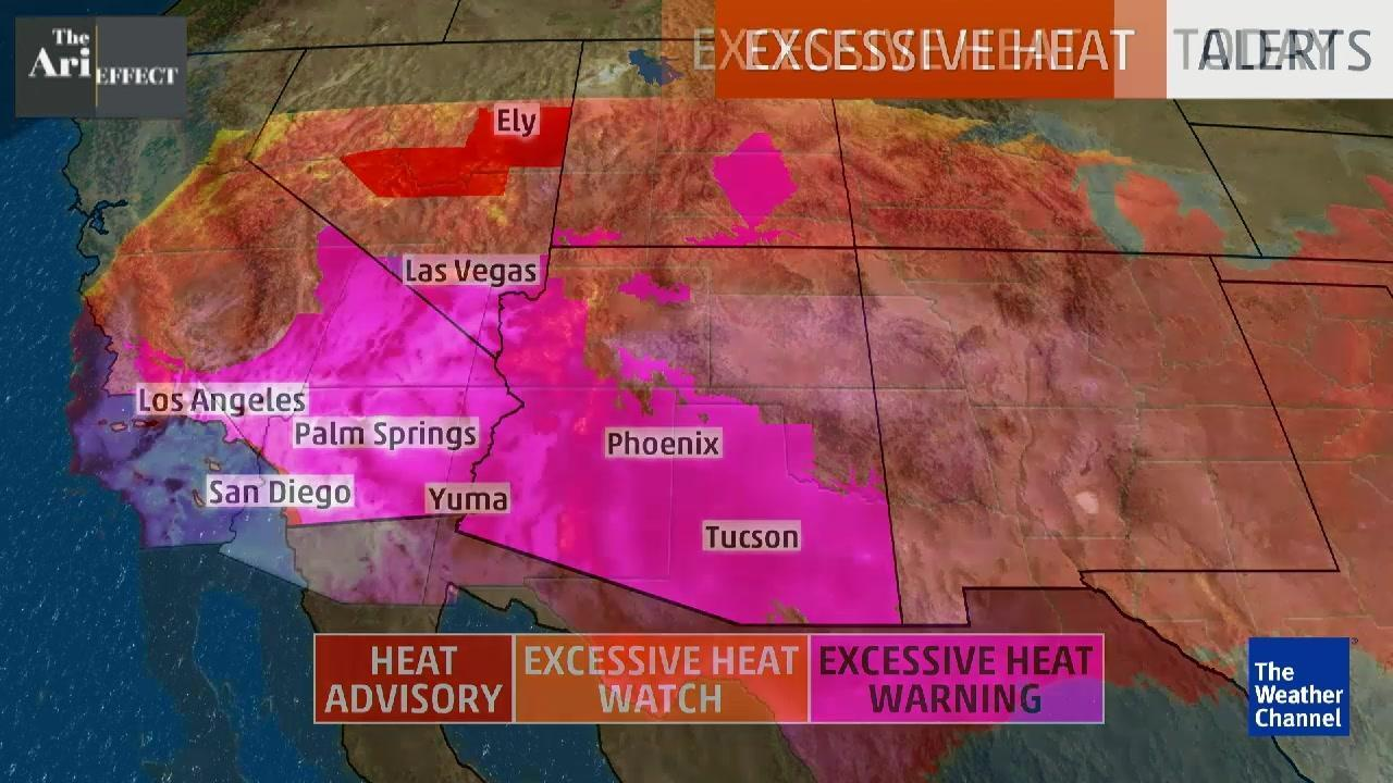 Deadly Southwest Heat, Excessive Heat Warnings Continue