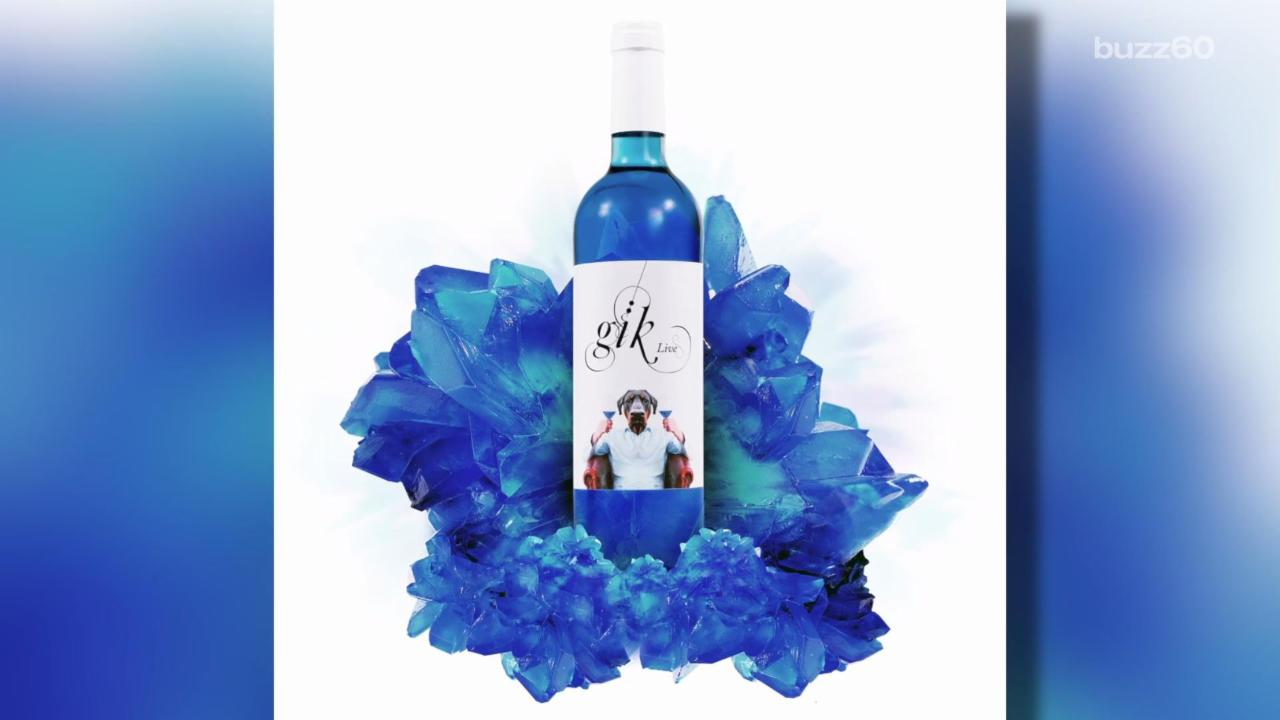 This New Blue Wine Might Change Your Life