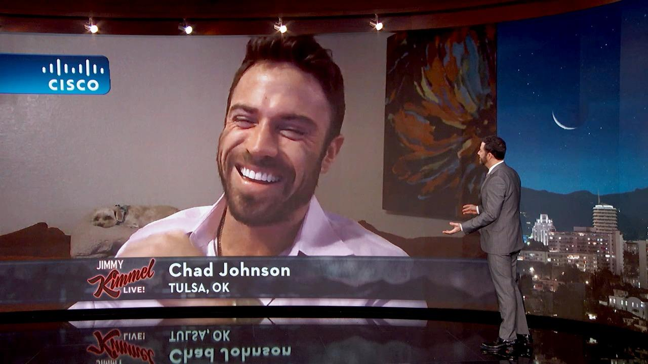 Jimmy Kimmel Talks to Bad Chad from The Bachelorette