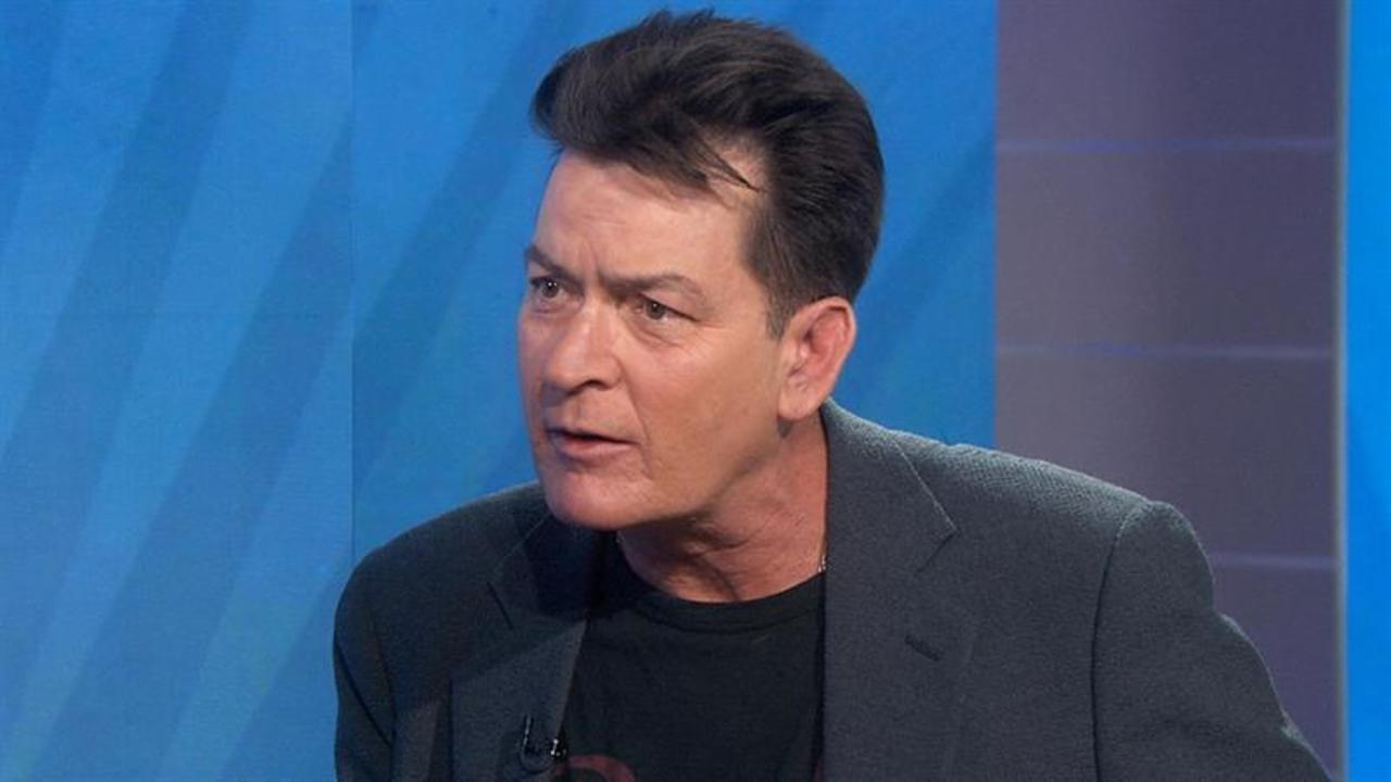 Charlie Sheen: Revealing HIV status was like getting out of prison