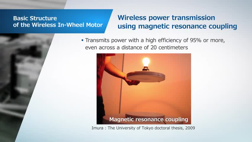 Wireless In-Wheel Motors from the University of Tokyo