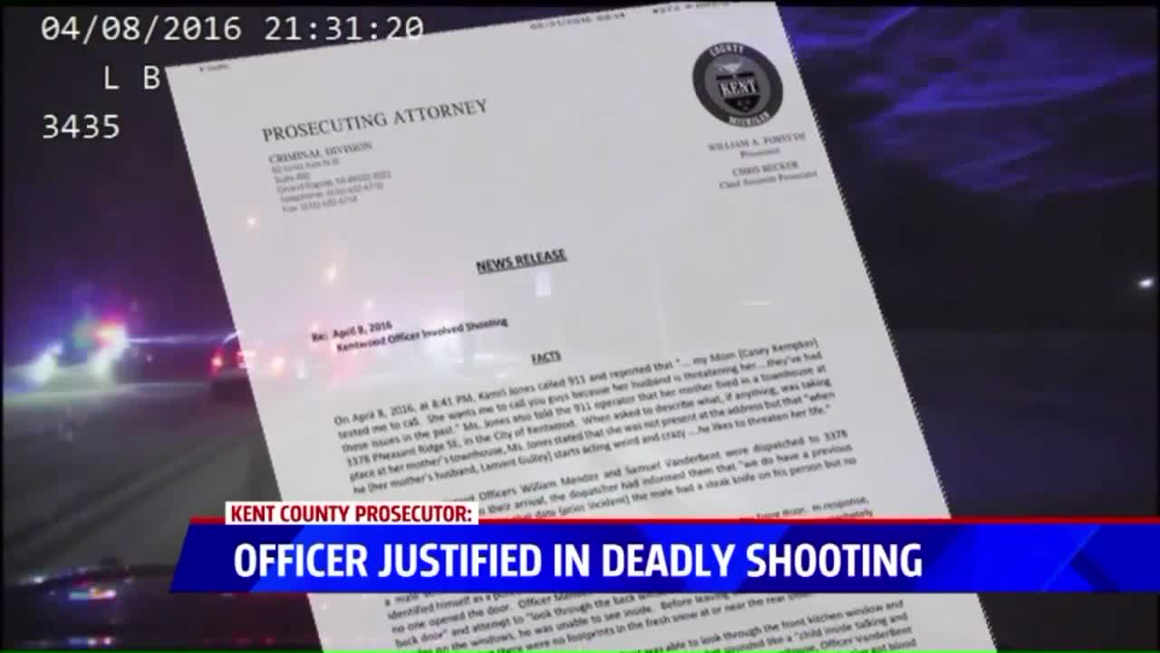 No Charges To Be Filed Against Michigan Police Officer In Fatal Shooting