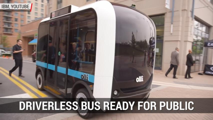 Driverless Bus Ready For Public Roads | Autoblog Minute