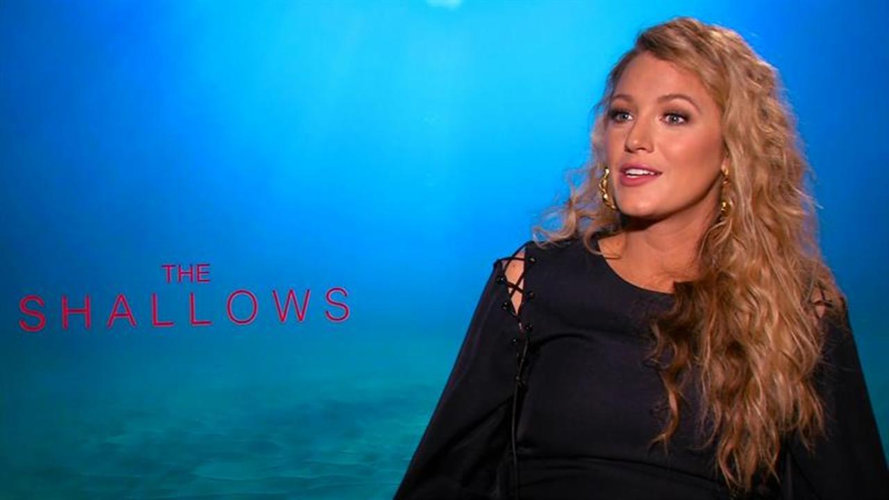 "Blake Lively Talks Getting In Shape for ""The Shallows"""