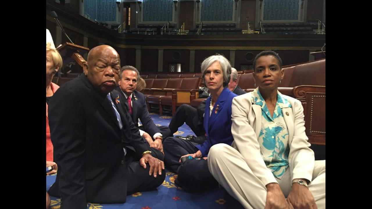 Democrats are Staging a Sit-in on the House Floor, Here's Why