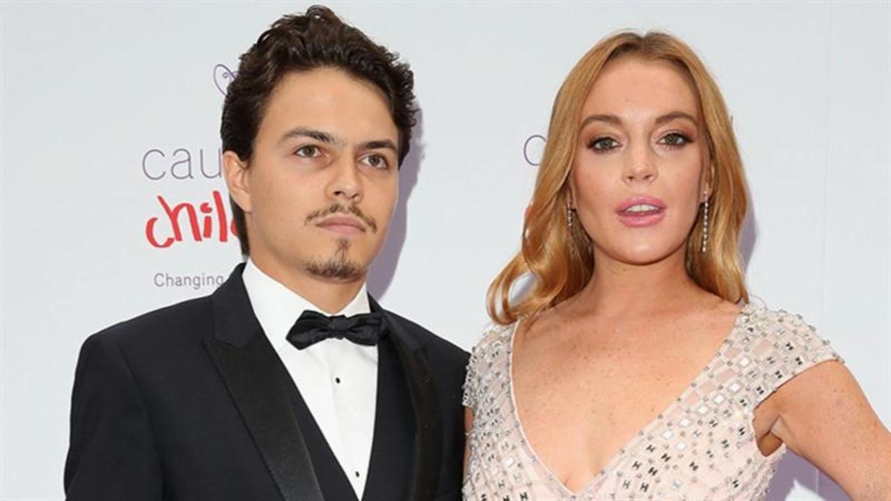 Lindsay Lohan Hits the Red Carpet with Rumored Fiance