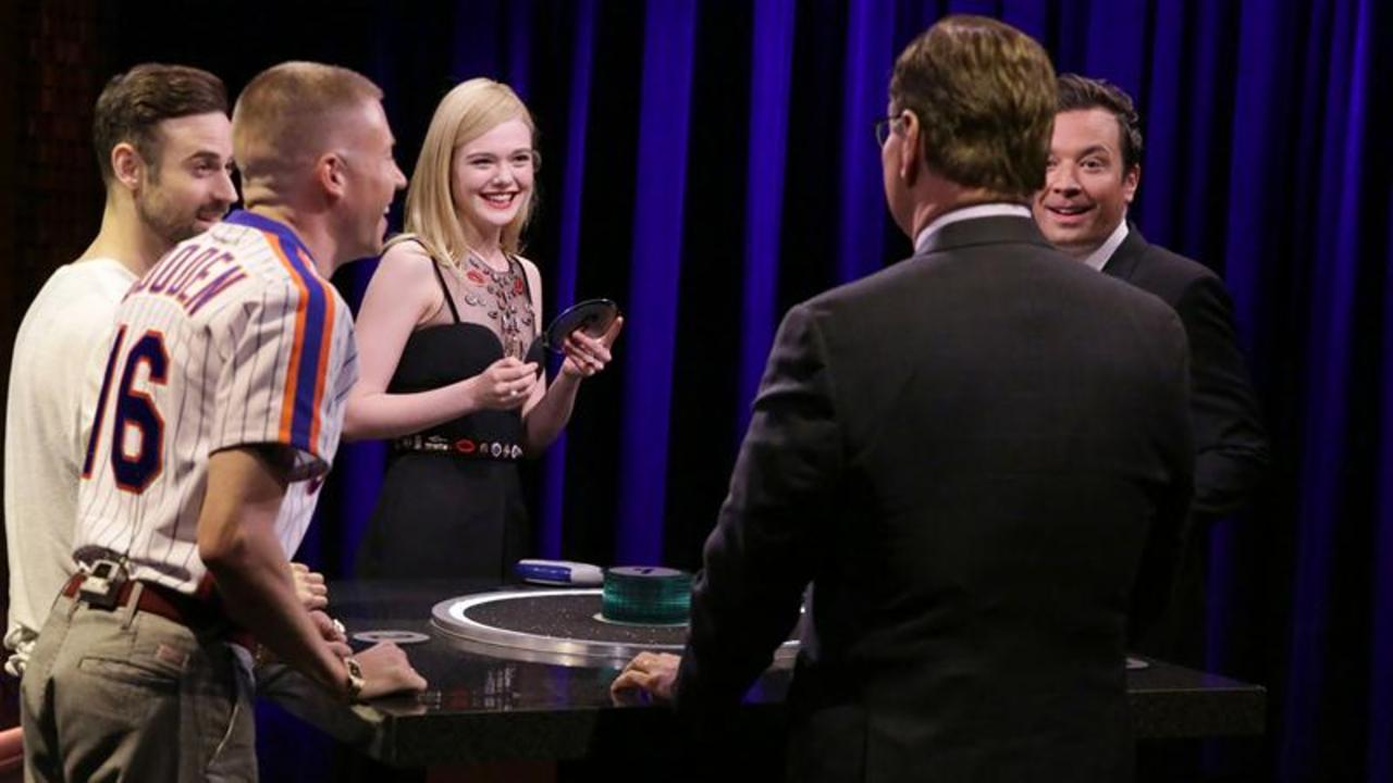 Catchphrase with Elle Fanning and Macklemore & Ryan Lewis