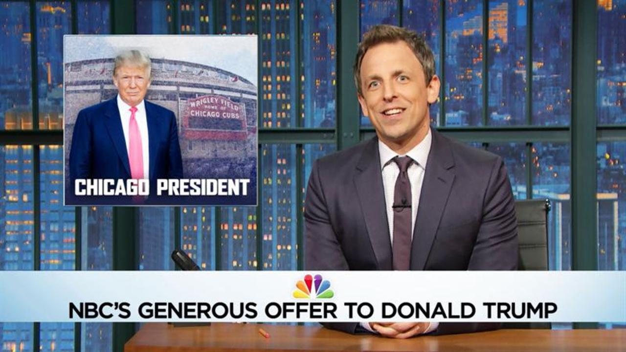 Seth Casts Donald Trump's Chicago President