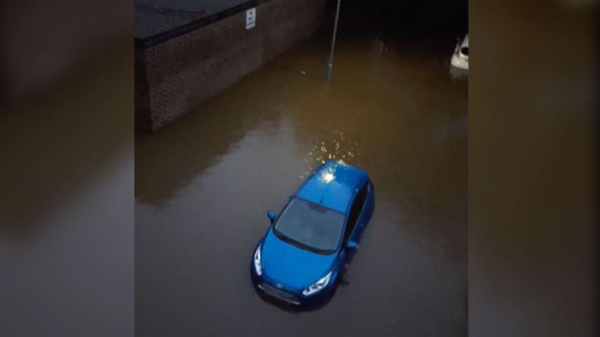 Southeast England Hit by Flash Floods