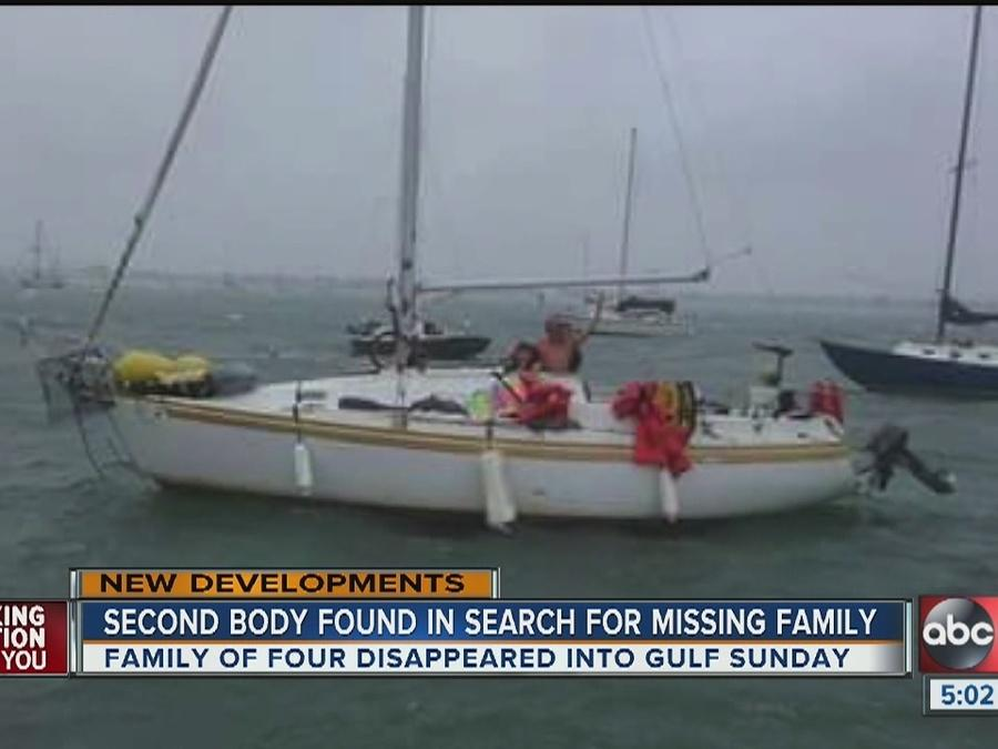 Coast Guard: 2nd body found in search for missing family