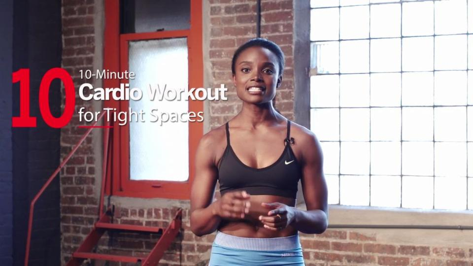 The High-Intensity Cardio Workout You Can Do In Your Living Room