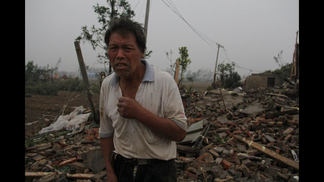 Death total from destructive China tornado rises to 78