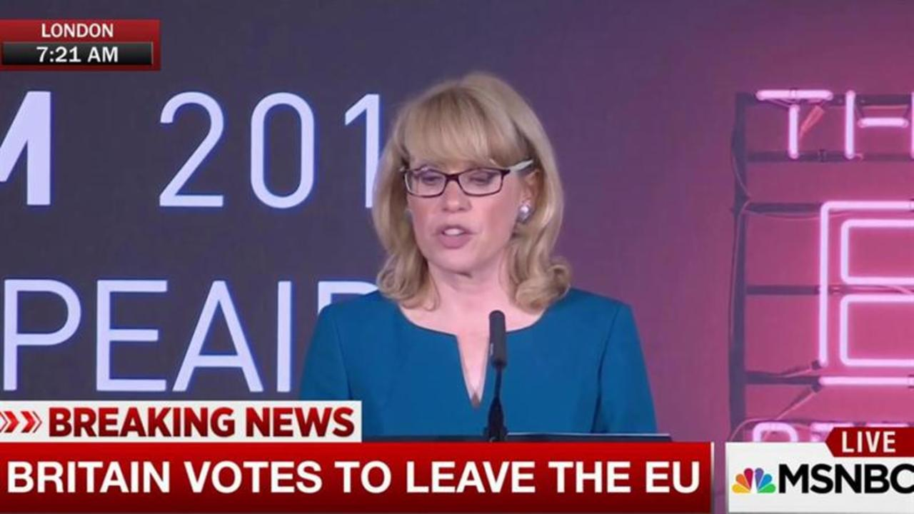 Official: 'U.K. has voted to leave the European Union'