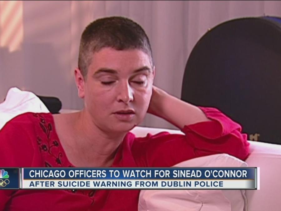Chicago Officers on Lookout for Sinead O'Connor