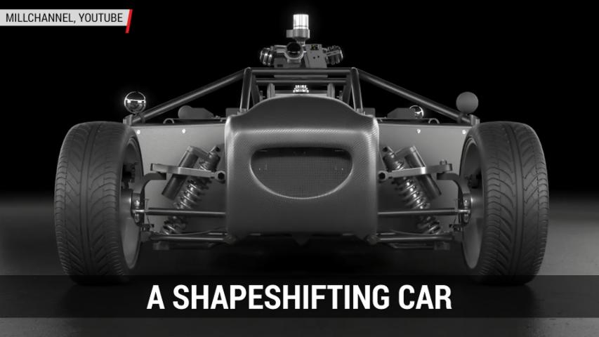 A Shapeshifting Car | Autoblog Minute