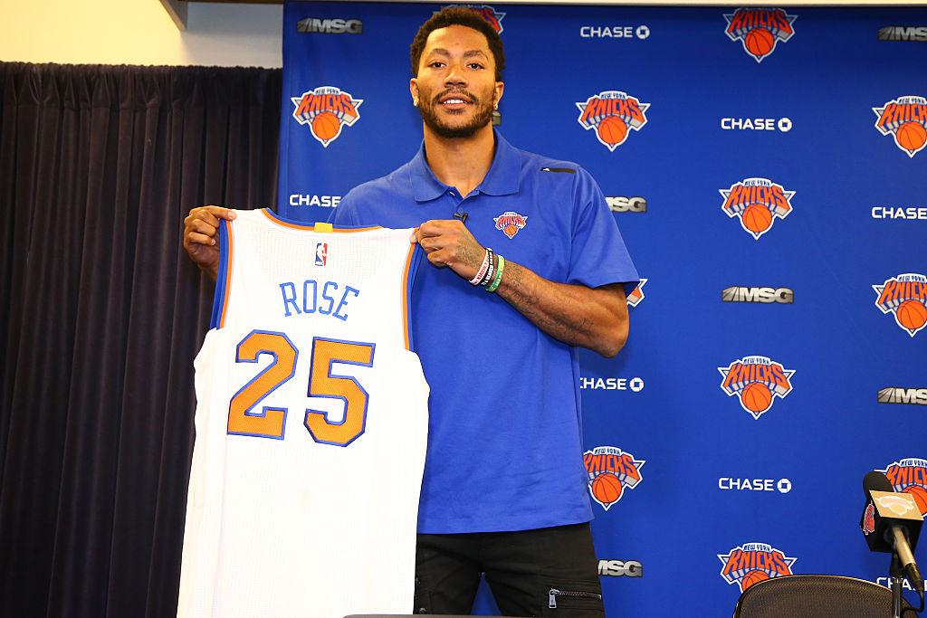 Phil Jackson feels Derrick Rose will 'reinvigorate' Carmelo Anthony