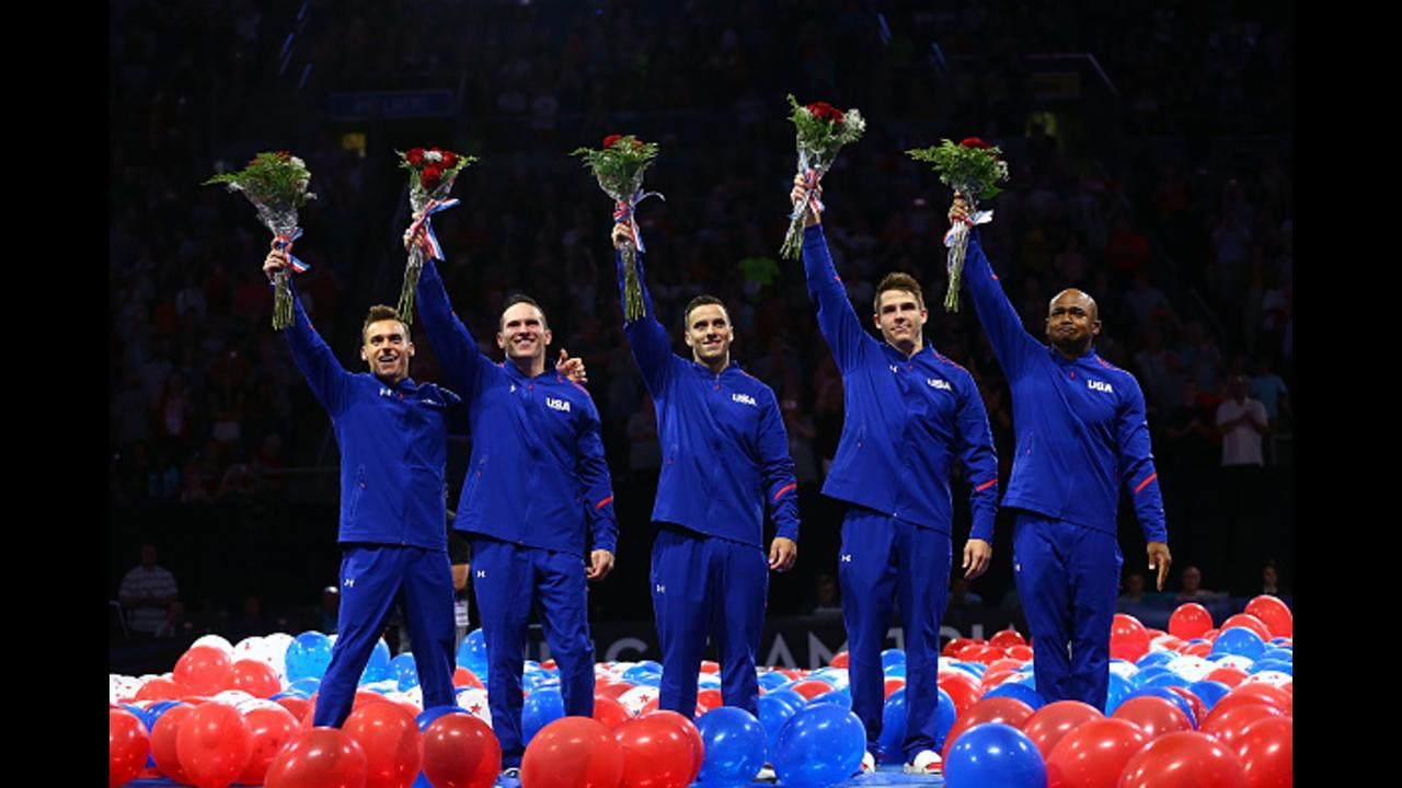 USA men's gymnastics team for 2016 Rio Olympics announced