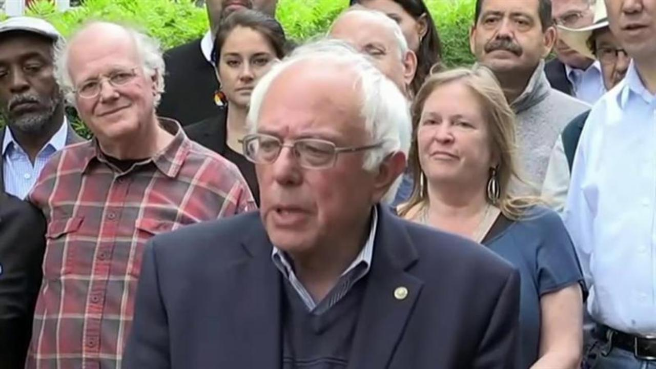 Sanders: I'm going to do everything I can to defeat Trump