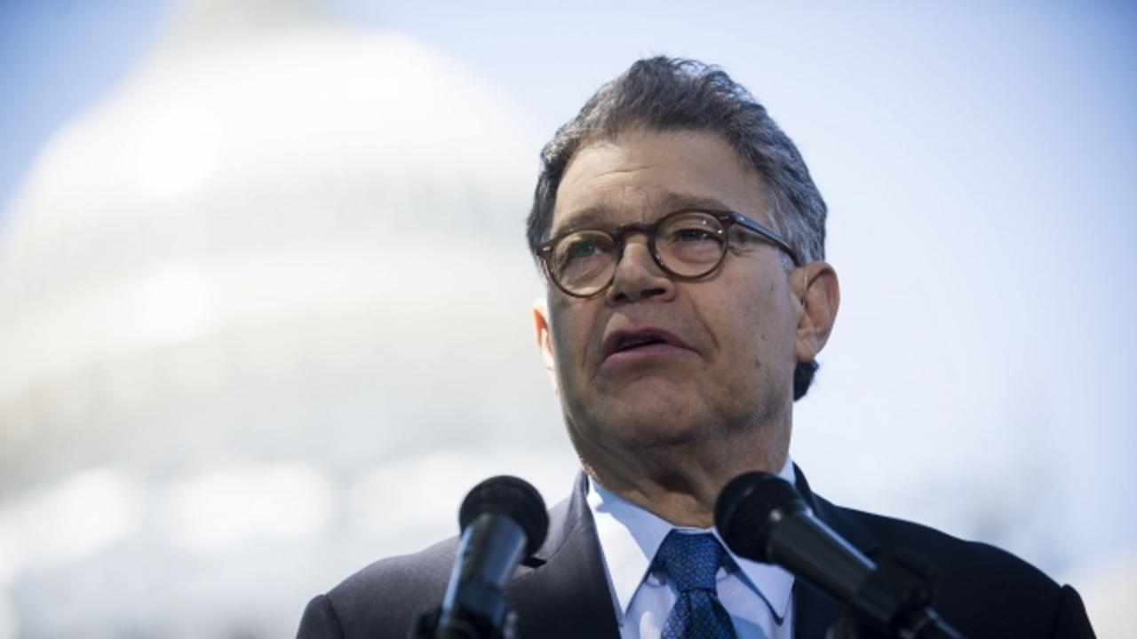 Sen. Al Franken Says He'd Accept the Job as Clinton's VP