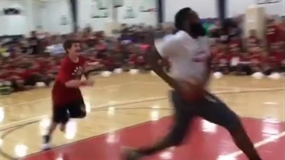 James Harden Does a Camper So Dirty