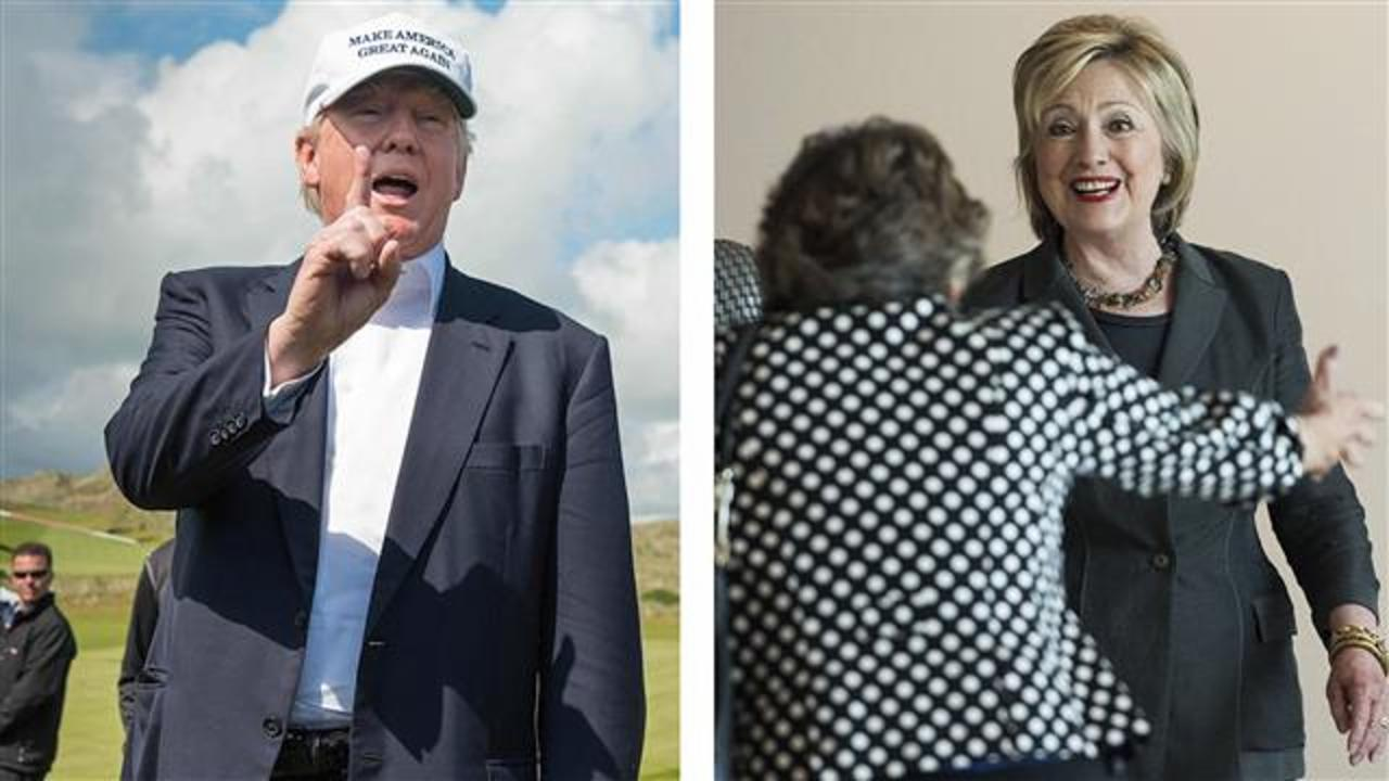 Negative Views of Donald Trump, Hillary Clinton Persist