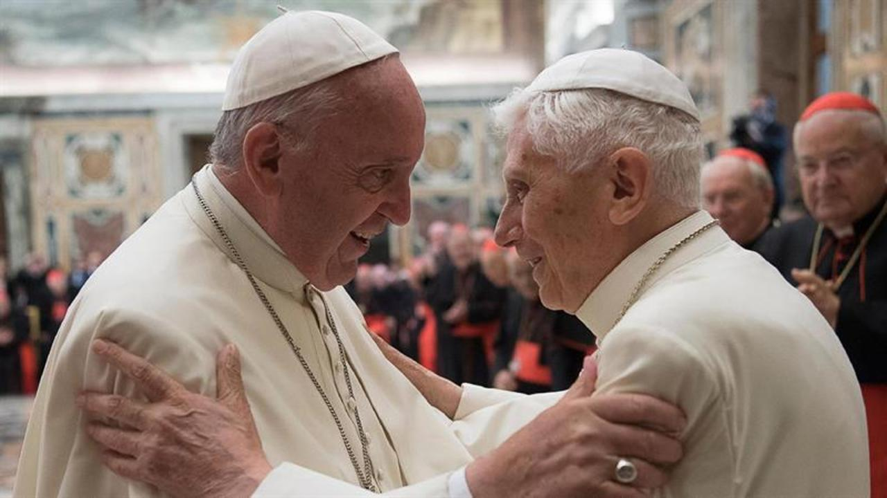Pope Francis Honors Benedict as Pope Emeritus Reaches Milestone
