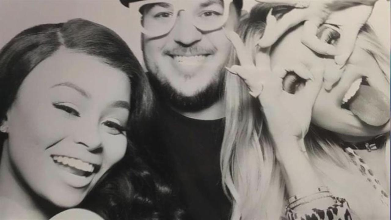 Blac Chyna and Rob Kardashian Party with Khloe