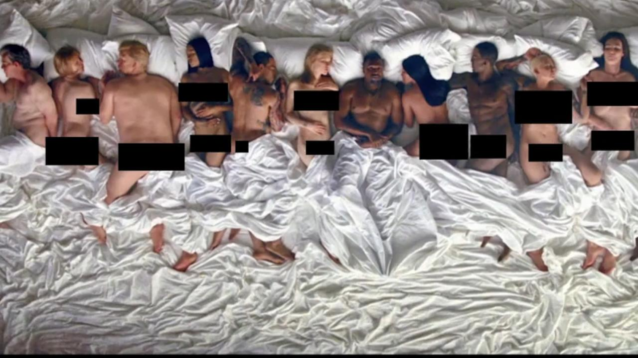 People Aren't Happy with Kanye's Music Video for 'Famous'