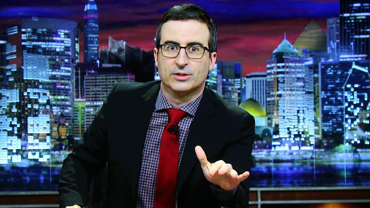 John Oliver Rips Olympic Doping on 'Last Week Tonight'