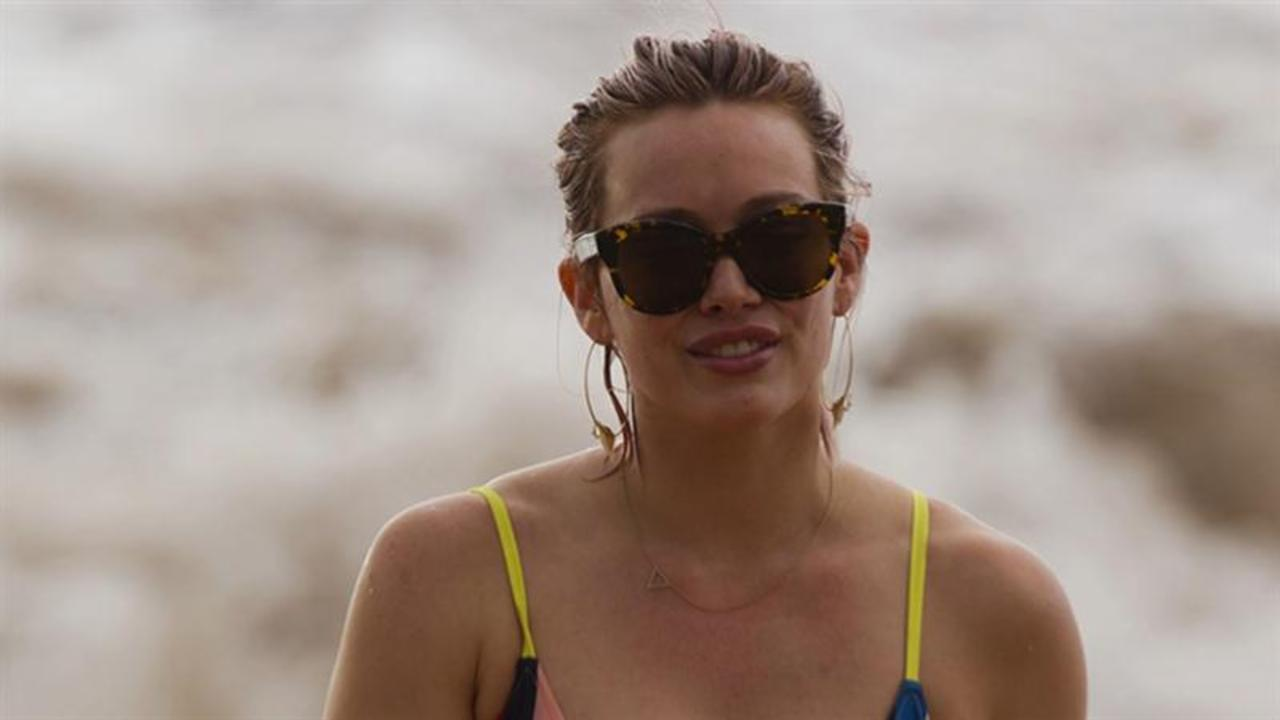 Hilary Duff Doesn't Care How She Looks in a Swimsuit