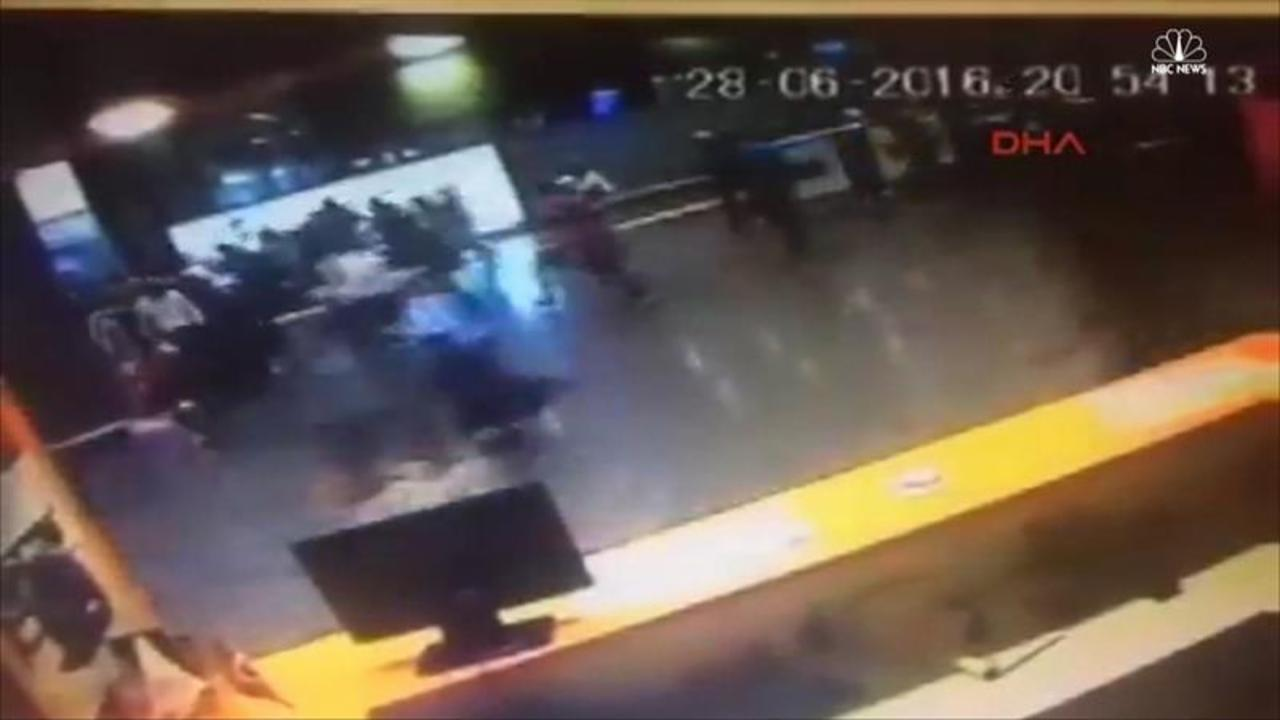 Video Shows Passengers Running Away From Explosion at Ataturk Airport