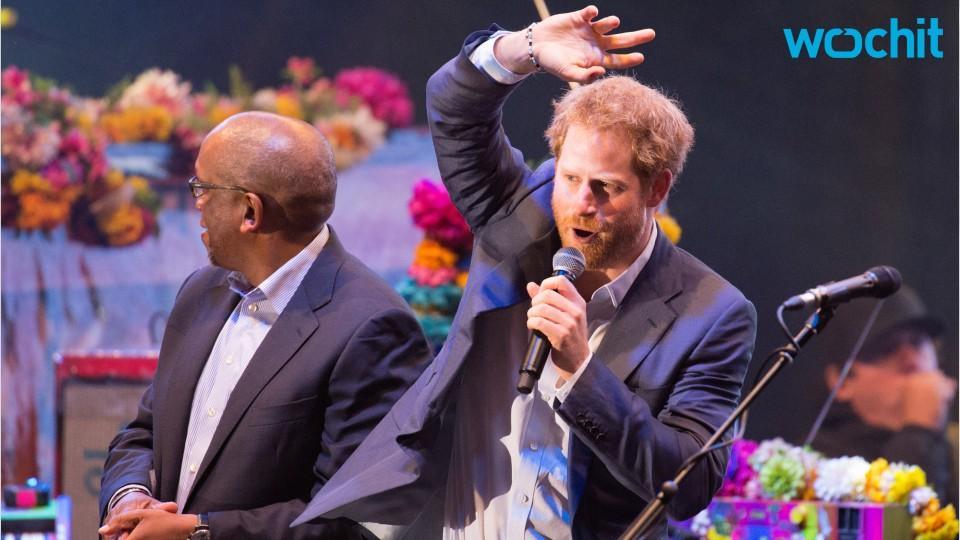 Prince Harry Belts It Out With Coldplay at Kensington Palace Charity Concert