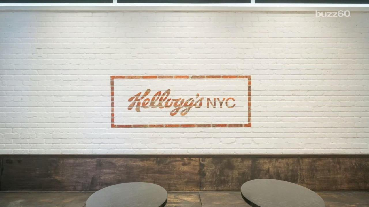Kellogg's Will Open All Day Cereal Restaurant in NYC
