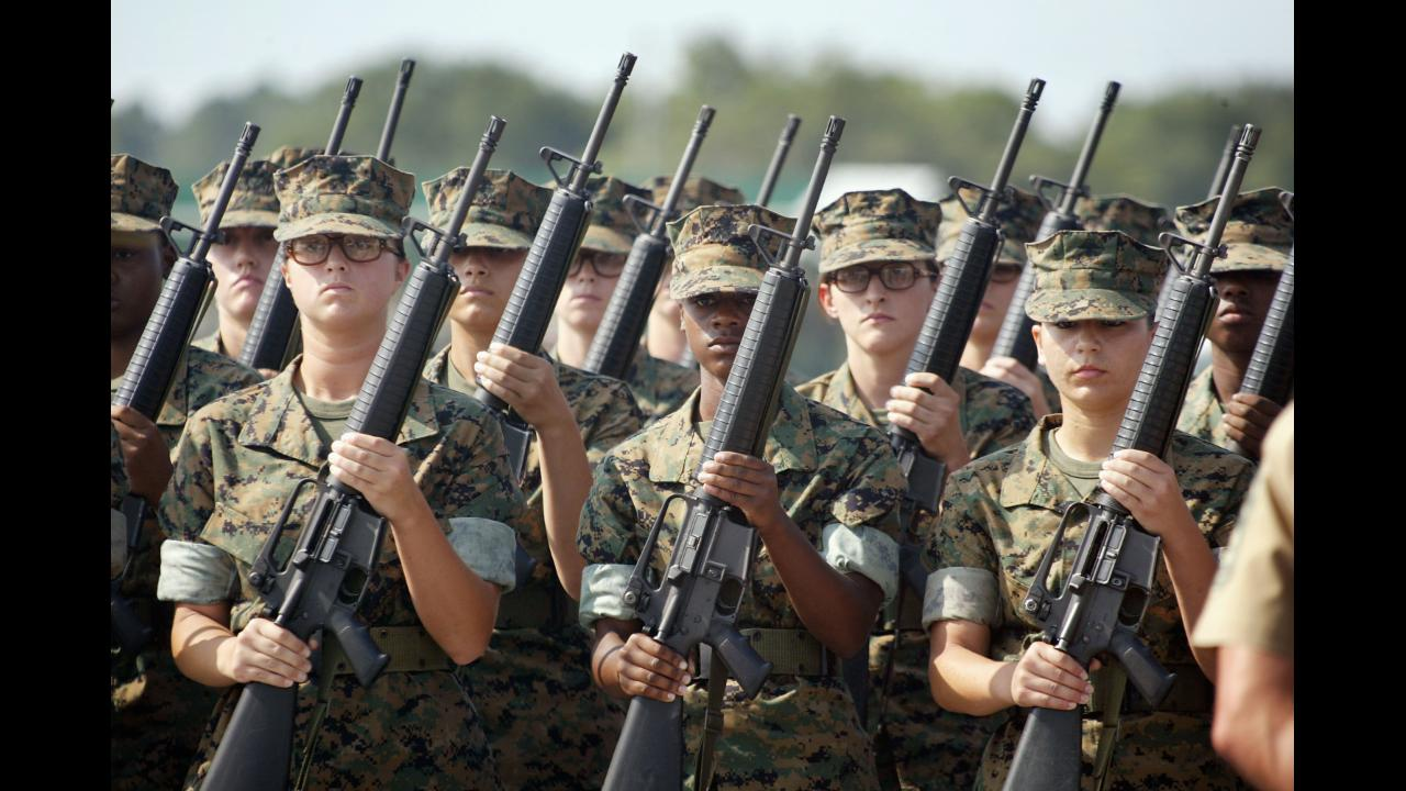 Some Marine Corps job titles are becoming gender-neutral