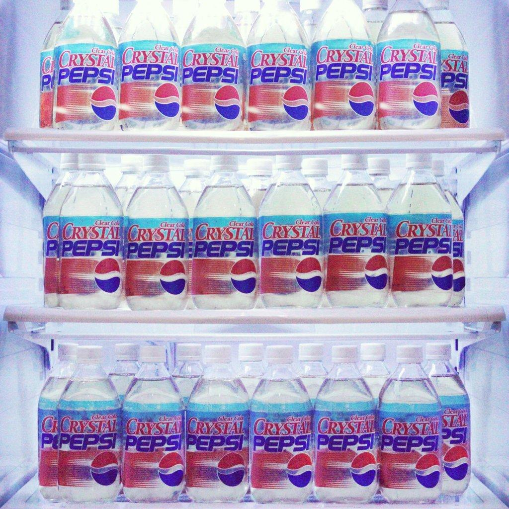 Crystal Pepsi is back for the summer and tastes like nostalgia