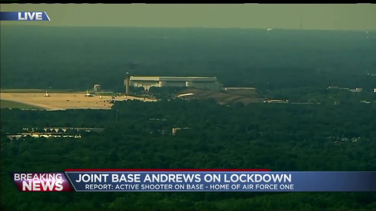 All Clear at Joint Base Andrews: Officials