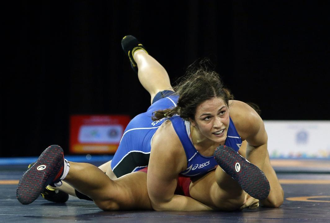 Meet the Female Wrestler Looking to Make History in Rio