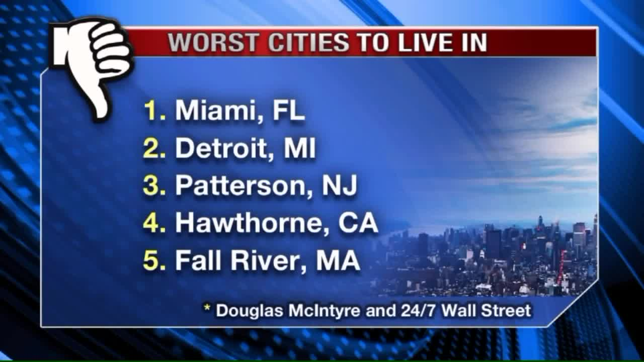 The 10 Worst Cities In America To Live In