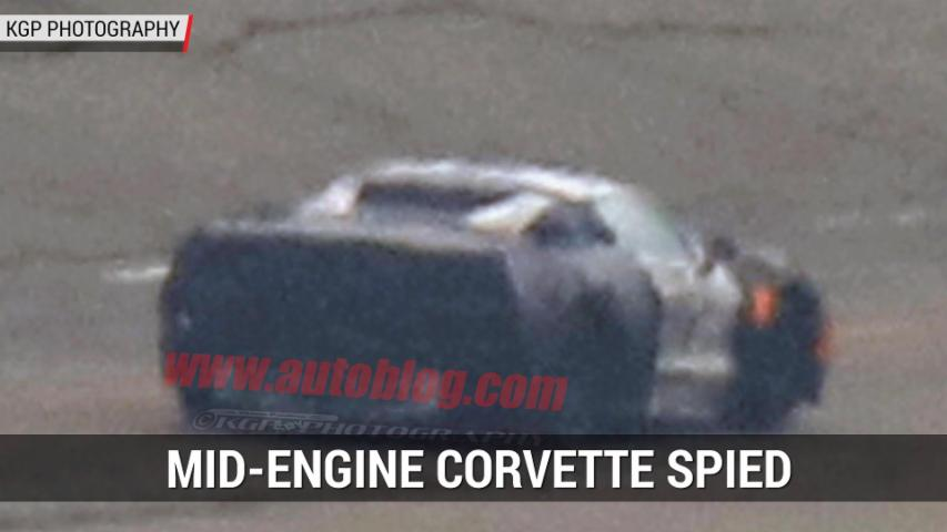 Mid-Engine Corvette Spied | Autoblog Minute