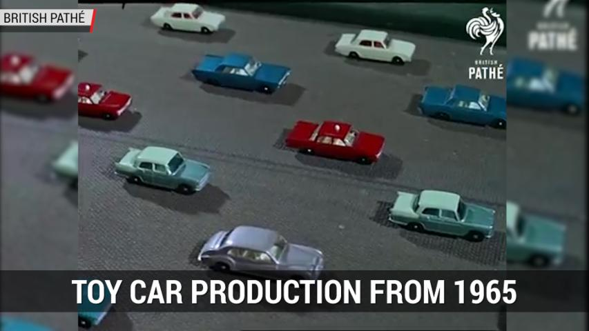 Film Shows How Matchbox Cars Were Made in 1965 | Autoblog MInute
