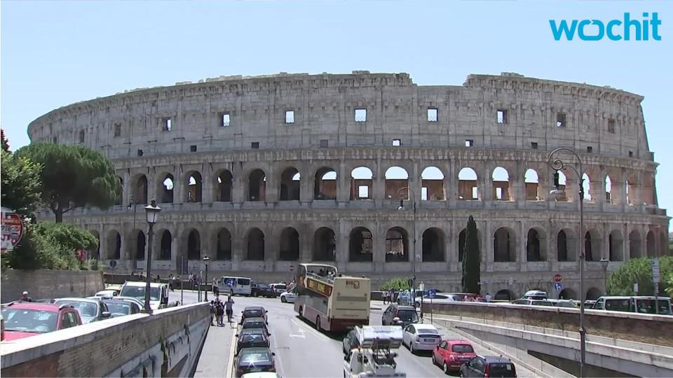 Million Dollar Makeover For Rome's Colosseum