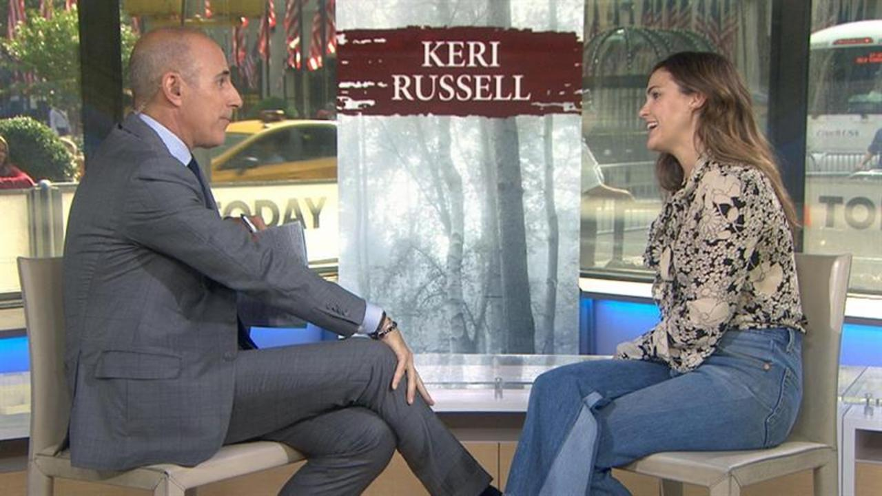 Keri Russell: talks 'Free State of Jones,' new baby, Hollywood star