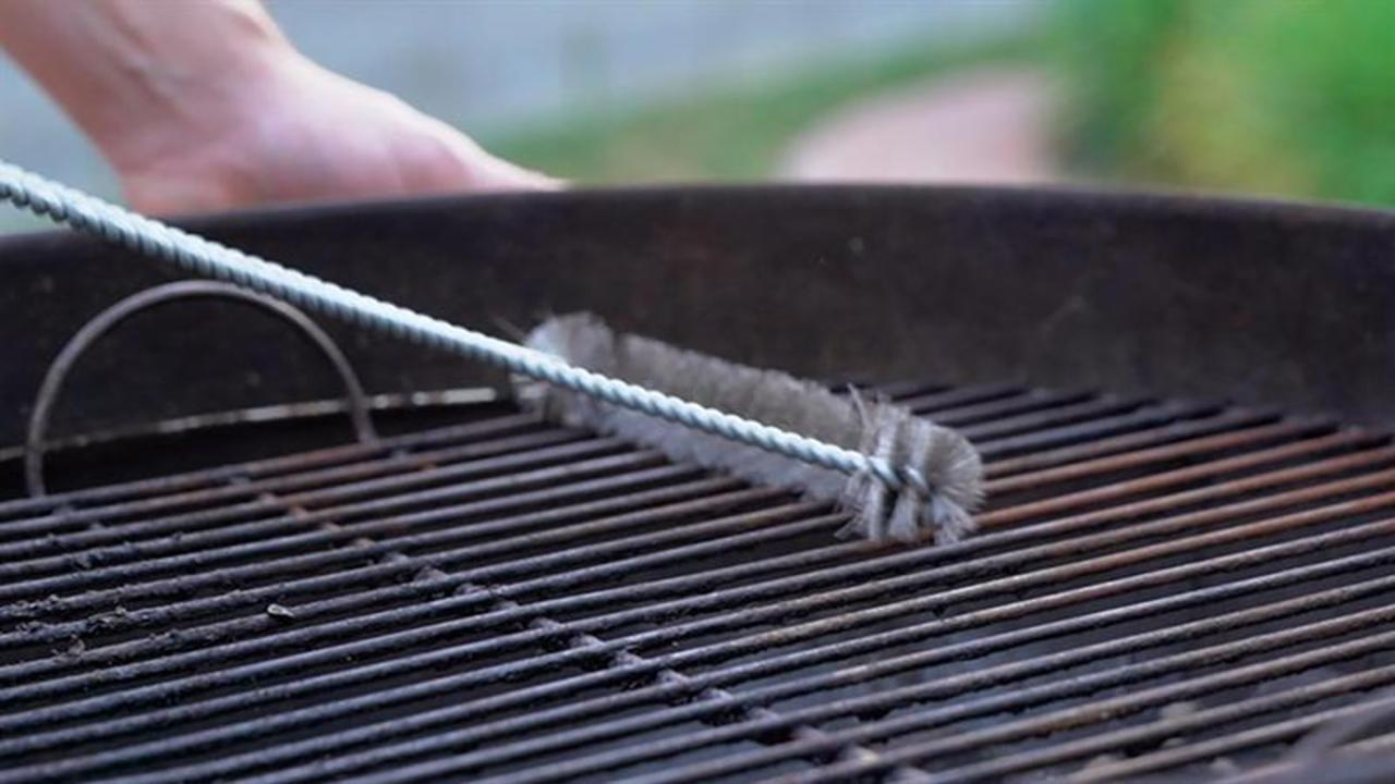 Clean your grill by following these easy steps