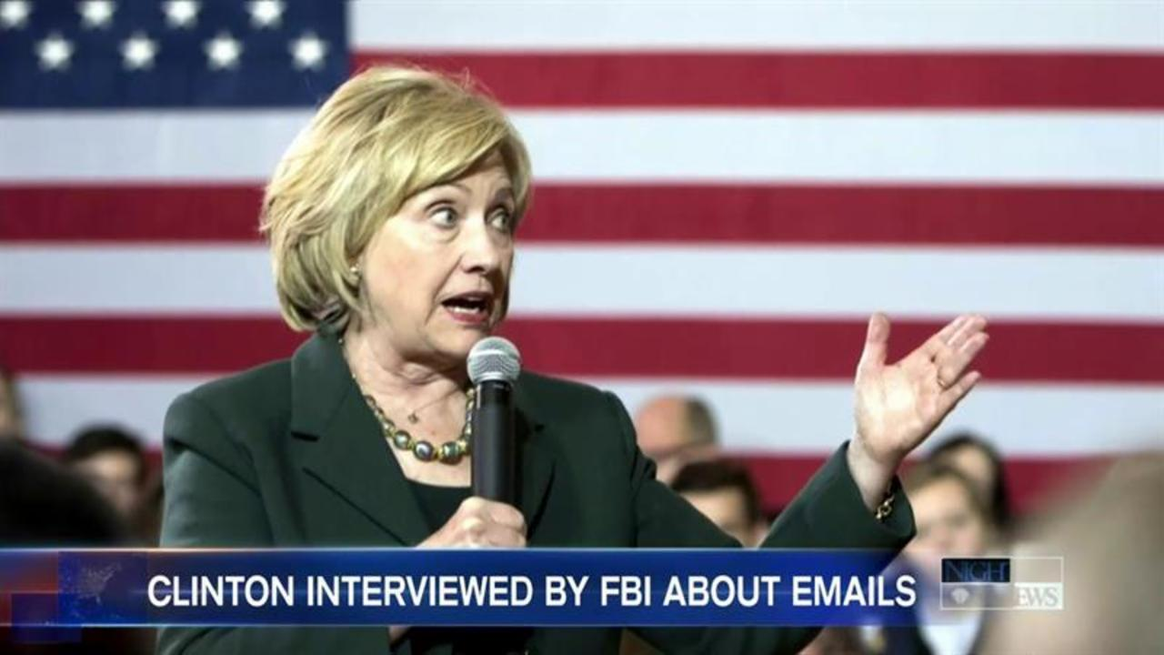 FBI Interviews Hillary Clinton About Private Email Server Usage