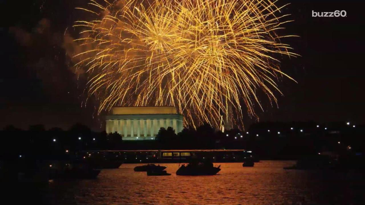 why we celebrate the 4th of july with fireworks aol news