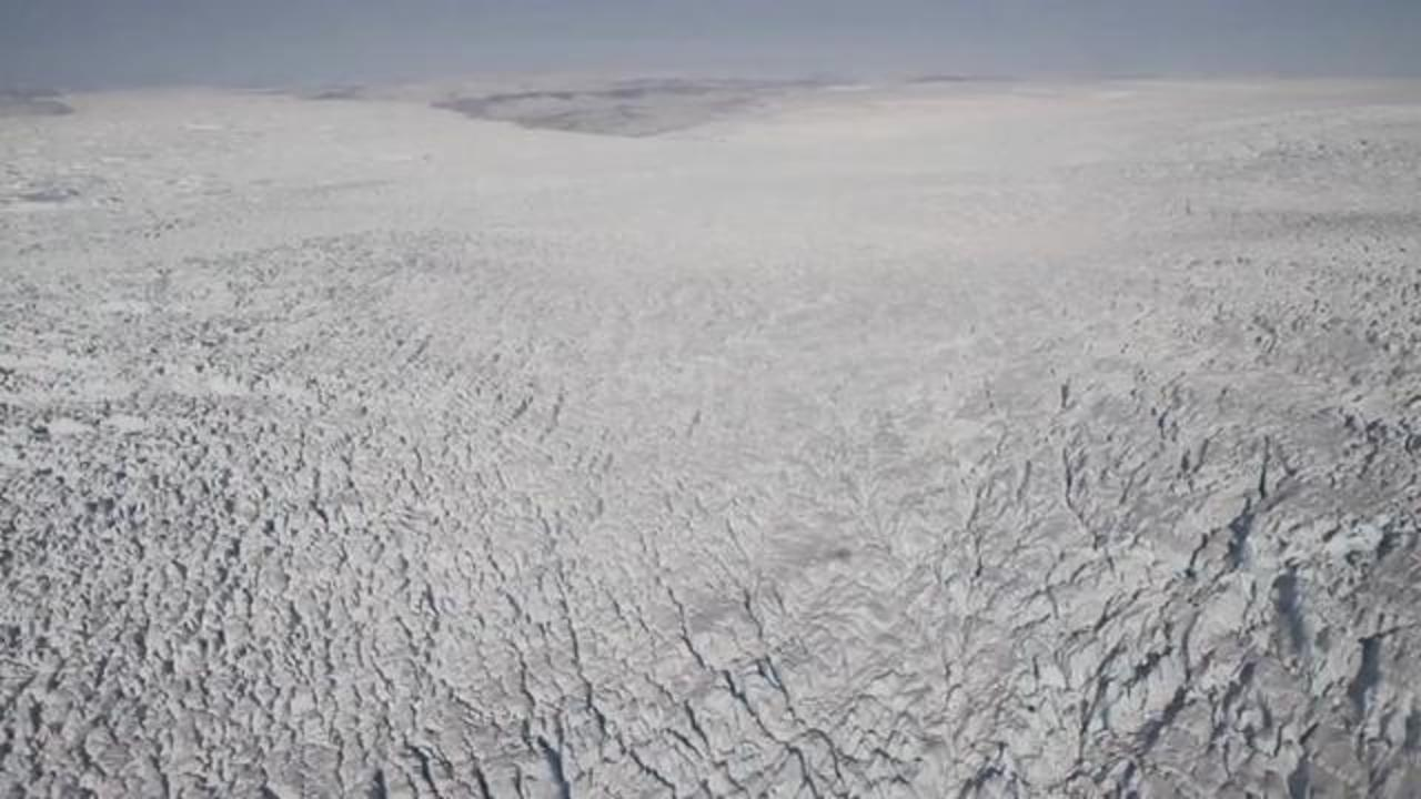 Ancient River System Found Under Greenland's Ice Sheet
