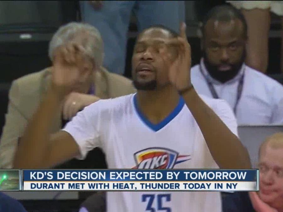 Durant concludes meetings, decision coming soon