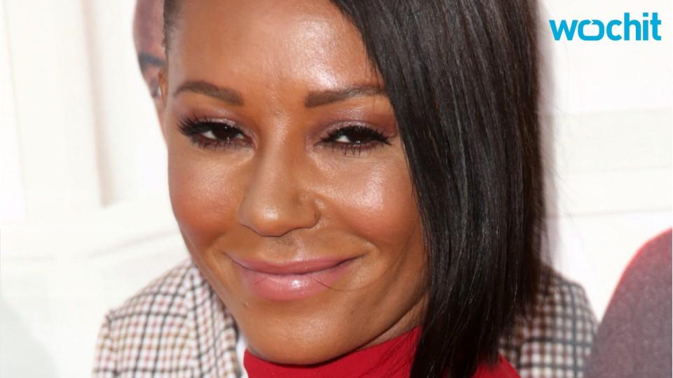 Mel B Shows Off 30-Pound Less Abs