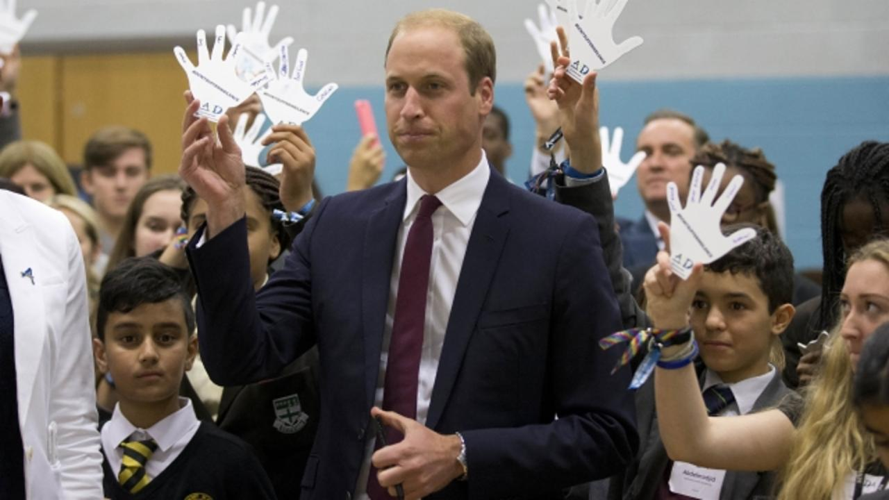 Prince William Is Letting Everybody Know He's Standing Up to Bullying